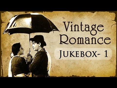Evergreen Vintage Romance Collection (HD)  | Jukebox | Black And White Hindi Hit Songs