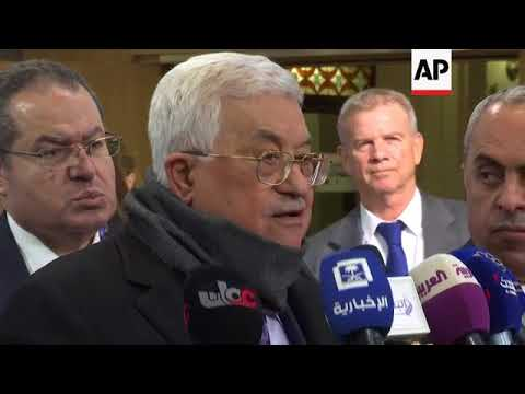 Abbas urges EU countries to recognize the Palestinian state