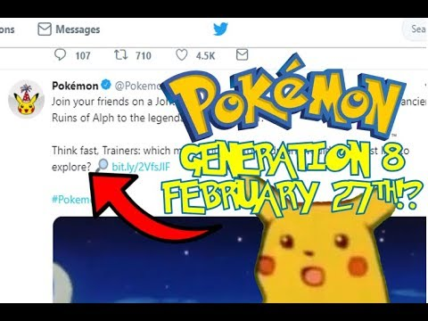 Is the Official Pokemon Twitter hinting at a Generation 8
