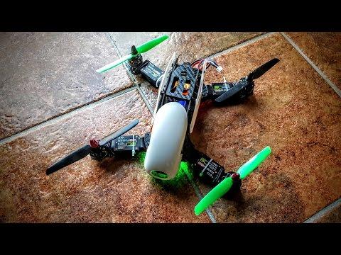 Robocat 270 Quadcopter Build & First Flights