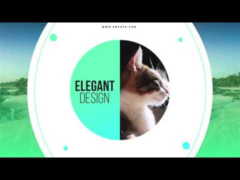 After Effects - Creative Slideshow Template