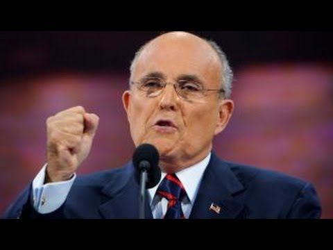 Rudy Giuliani will not be considered for Trump