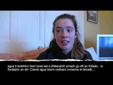 Irish Leaving Cert Oral Higher Level (Béaltriail Hannah)