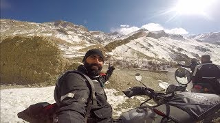 Whiteout on Royal Enfield Himalayan Sleet   Day 3