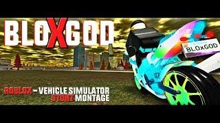"""BLOXGOD"" ROBLOX Vehicle Simulator STUNT MONTAGE w/ HDee"