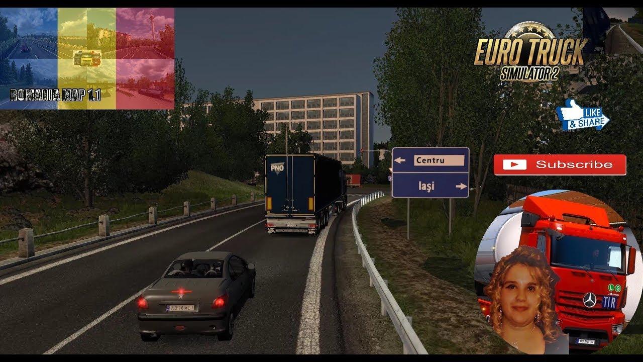 Euro Truck Simulator 2 1 32 Romania Map 1 1 By Mirfi 1 32