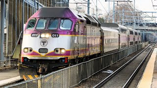 Fast MBTA Trains in Eastern Massachusetts