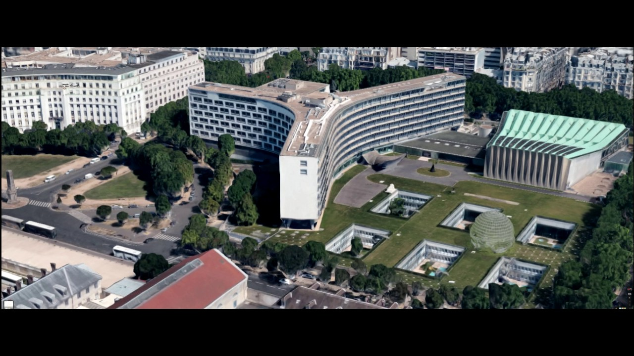 Maison de l 39 unesco vue du ciel youtube - Maison de l islande paris ...