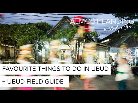 Our Favourite Things To Do In Ubud and Ubud Field Guide Launch!