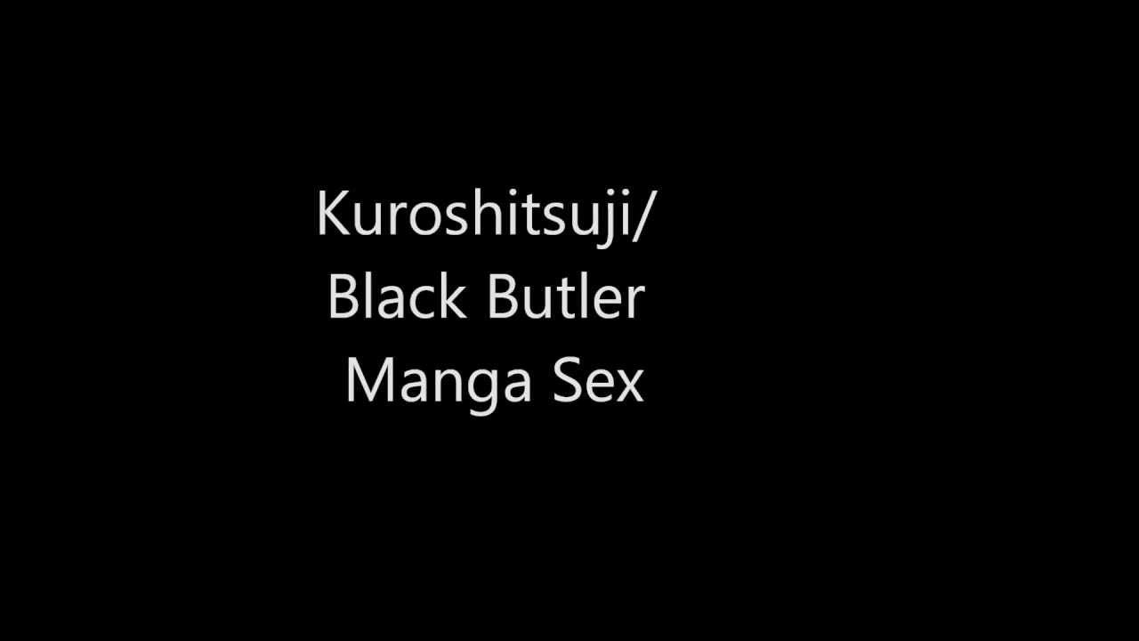 Butler ciel and sebastian black