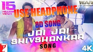 WAR MOVIE SONG    JAI JAI SHIV SHANKAR 8D SONG    DOWNLOAD LINK IN DISCRIPTION. BY CREATION HARSH.