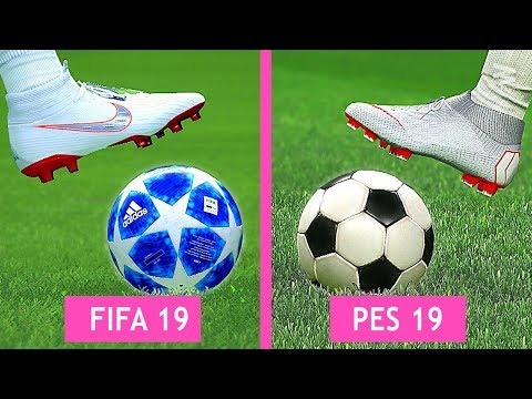 FIFA 19 Vs PES 19: Graphics Comparison