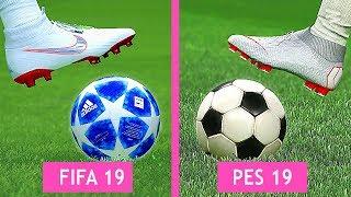 FIFA 19 Vs PES 19: Graphics Comparison