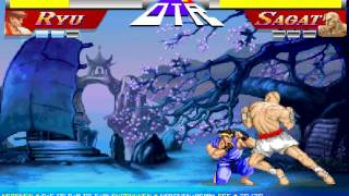 Street Fighter 2 Ryu vs. Sagat