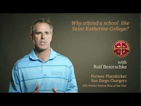 Saint Katherine College Minute - with Rolf Benirschke