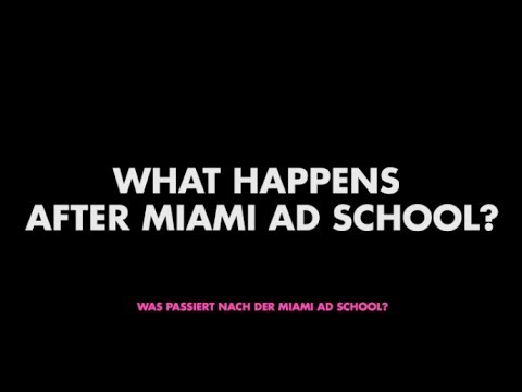 WHAT HAPPENS AFTER MIAMI AD SCHOOL?