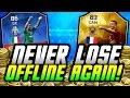 FIFA 16 UT - NEVER LOSE OFFLINE AGAIN! (AMAZING COIN FARMING METHOD!)