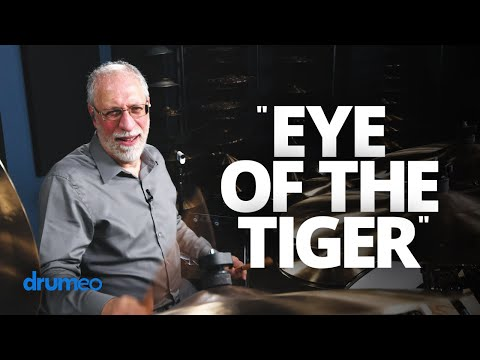 "World's Happiest Drummer Plays ""Eye Of The Tiger"" (Drum Cover)"