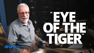 World's Happiest Drummer Plays 'Eye Of The Tiger' (Drum Cover)