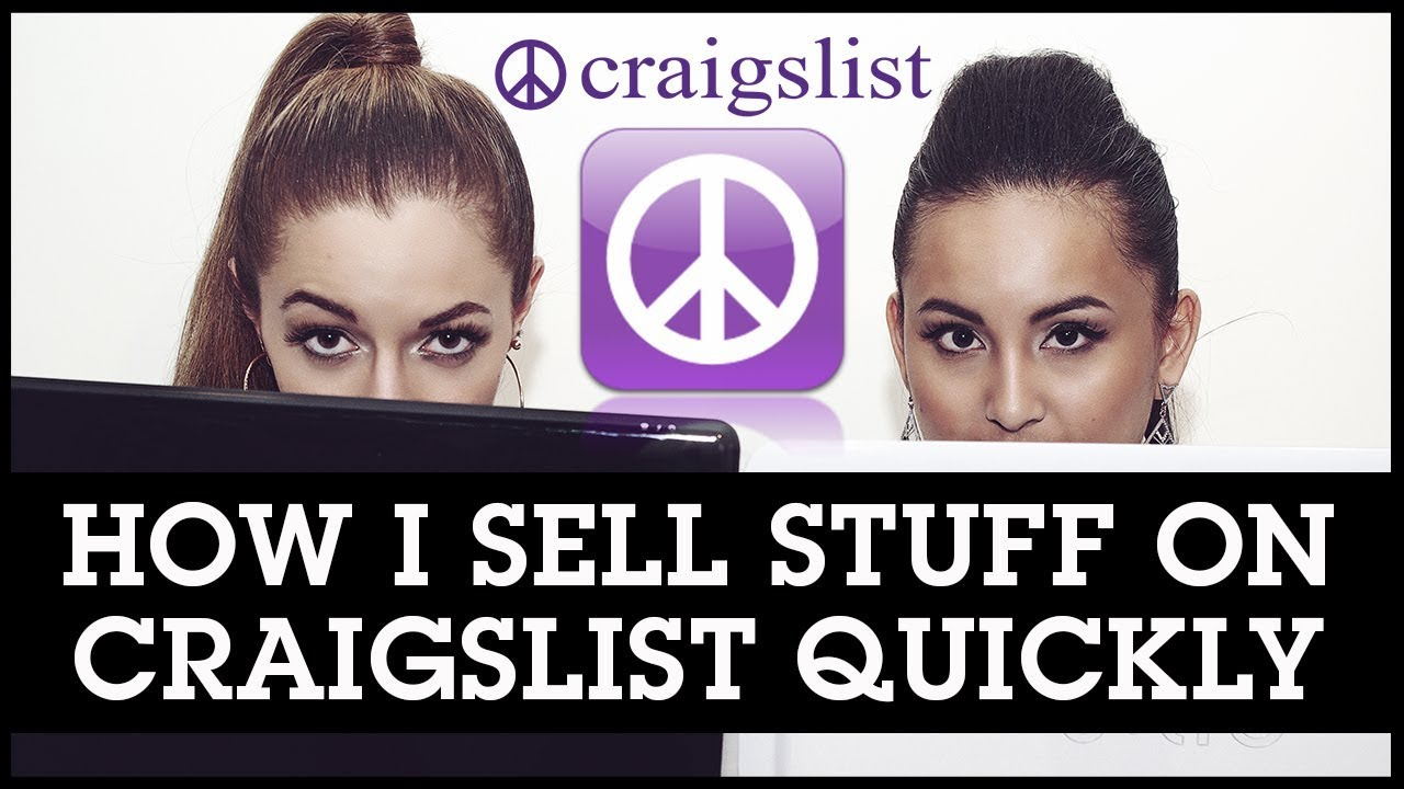 How I Sell Stuff on Craigslist Quickly and Safely: Exact Listing ...