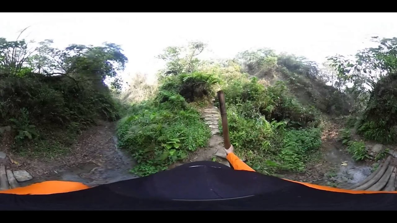 中興林場後山步道360度全景攀爬 - YouTube