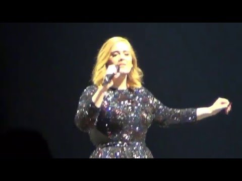 Adele    Live Stockholm 2016-04-29  Tele2 Arena