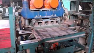 видео Вибропрессованная плитка – изготовление и продажа