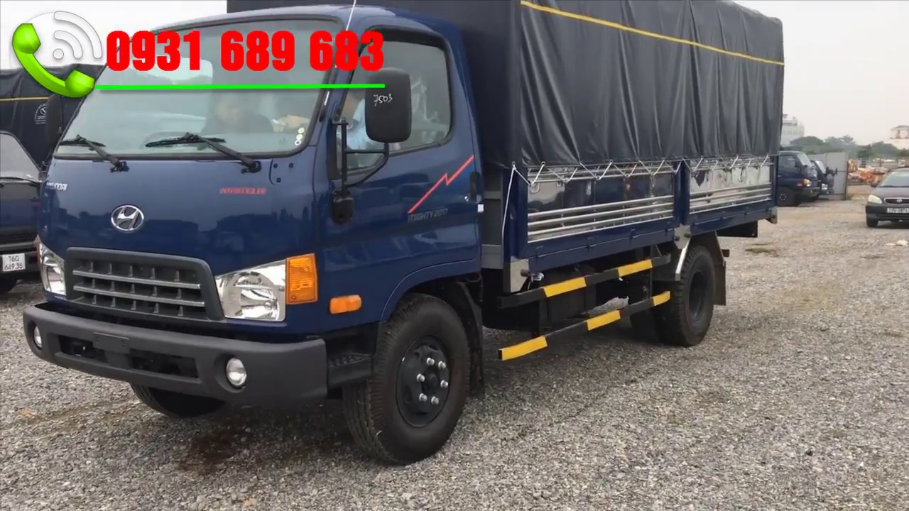 xe tải hyundai 8 tấn | hyundai mighty 2017   Thành Công 8 tấn - YouTube