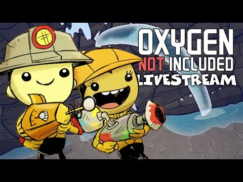 Back to work! - Oxygen Not Included Gameplay - Occupational Upgrade - Livestream