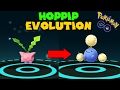 Evolving HOPPIP to JUMPLUFF (Pokemon Go GEN 2 Evolution)