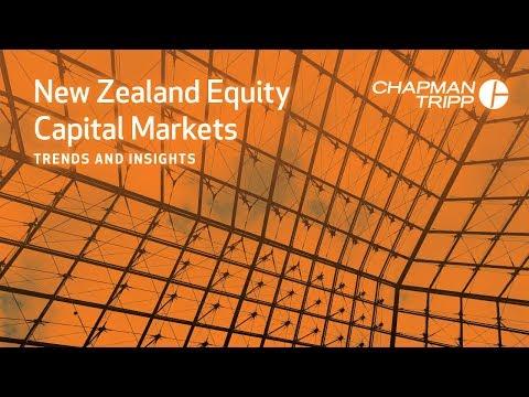 CHAPMAN TRIPP | New Zealand Equity Capital Markets 2018