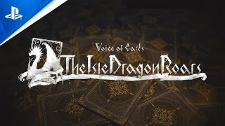 Voice of Cards: The Isle Dragon Roars - Announce Trailer | PS4