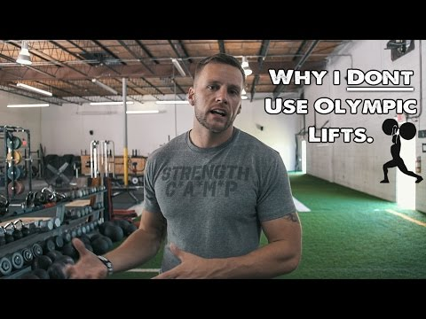 Why I DO NOT Use Olympic Lifts With Athletes