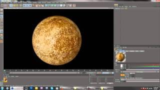 Cinema 4D | Creating The Solar System | Mercury