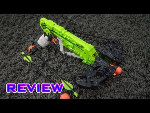 [REVIEW] Nerf Zombie Strike WrathBolt   Unboxing, Review, & Firing Demo