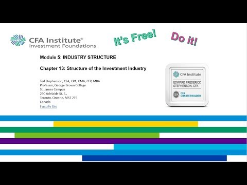 Chapter 13 CFA Institute Investment Foundations