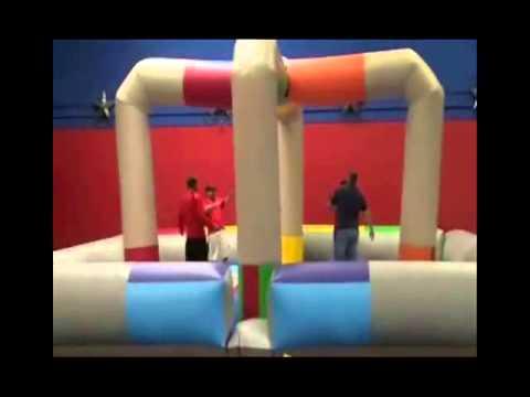 Wrecking Ball Inflatable Game - Dallas Texas