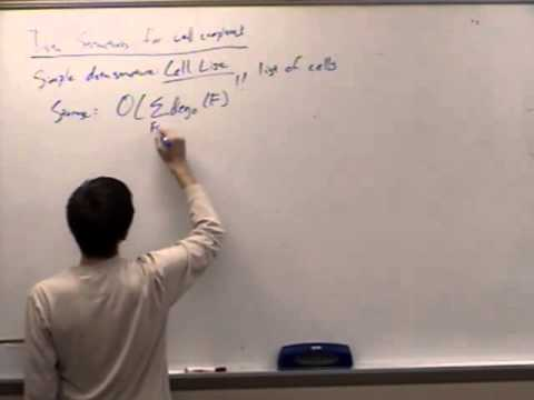 Computational Geometry Lecture 10: Topological data structures