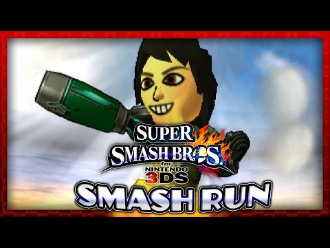 Super Smash Bros. for 3DS - Smash Run: Mii Fighter