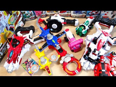 明日放送開始!ルパレン VS パトレン DX玩具を全部一気に開封レビュー!VSチェンジャー DXパトメガボー DXルパンソード VSビークル ダイヤルファイター ルパンレンジャー/パトレンジャー