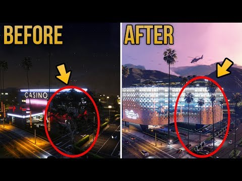 GTA Online: The Diamond Casino & Resort ALL NEW EXTERIOR CHANGES! New Horsetrack, Parking Lot & More