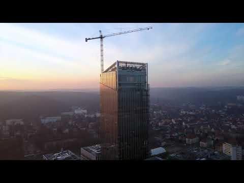 Olivia Business Centre - Olivia Star 180m (01.2018) MaxDron