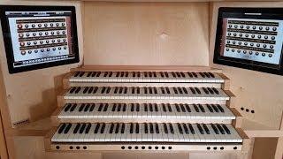 Pachelbel - Chaconne in D minor (Ciacona T. 204, hauptwerk, Batz organ, Dom, Utrecht)