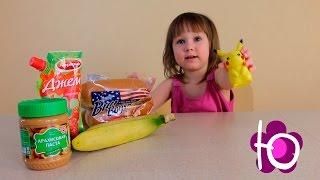 Покемон игрушка Пикачу готовим Банана дог вместе с Покемоном Bananadog cooking with Pokemon