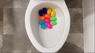 Clogged my Toilet so bad with Rainbow Eggs