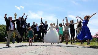 Улыбки со свадьбы Сергея и Лены   (слайдшоу)