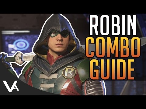Injustice 2 - Robin Combos! Easy Combo Guide For Beginners In Injustice 2