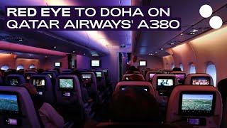 QATAR AIRWAYS A380-800 ECONOMY QR42 DOHA - PARIS
