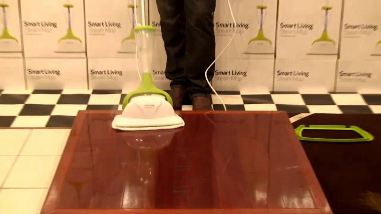 Charming Smart Living Steam Mop   YouTube
