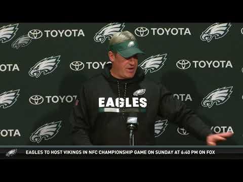 Eagles Press Pass: Head Coach Doug Pederson (1/19/18)